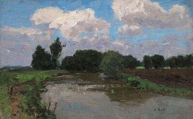 Alfred Zoff, 'The Stream', 1900