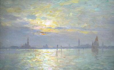 Emo Mazzetti, 'Venice Sunrise', ca. 1900