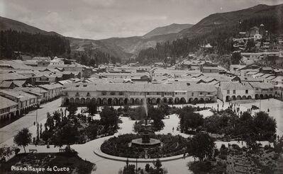 Martín Chambi, 'Plaza Major de Cuzco, Perù', anni 1920