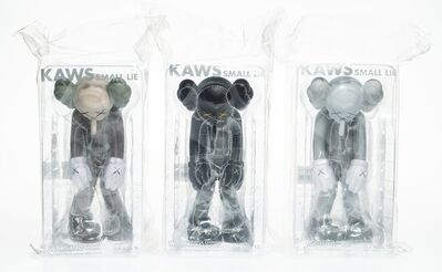 KAWS, 'Small Lie, set of three', 2017