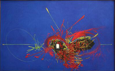 Georges Mathieu, 'Songes écarlates', 1970