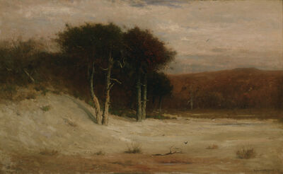 Robert Swain Gifford, 'Tupelos on Red Beach', 1881