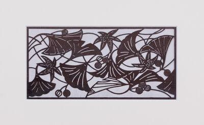 Unknown Artist, 'Ise katagami (stencil) ginko pattern, Japanese, Showa period', ca. 1960