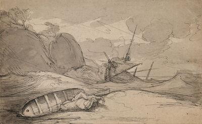 Benjamin West, 'Shipwreck'