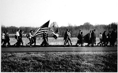 Steve Schapiro, 'On the Road/Selma March', 1965