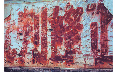 Howard Finkelson, 'China Wall 4 / Red Letters', 2002