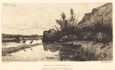 Adolphe Appian, 'Marais de la Burbanche'
