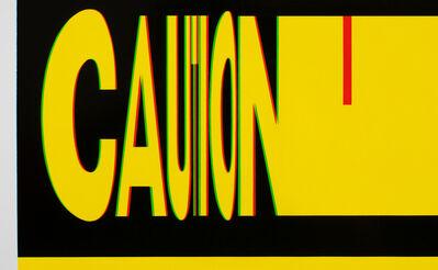 Anthony Adcock, 'Caution', 2018