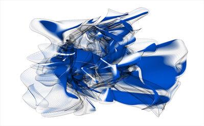 Marjan Moghaddam, 'Blue Sonica Whisper', 2006