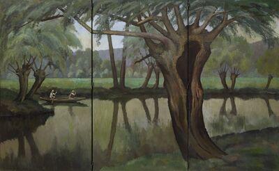Paul-Emile Pissarro, 'Fisherman at Lyons-la-Forêt', 1929