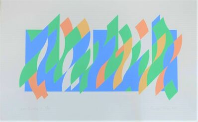 Bridget Riley, 'Wall Painting 1', 2007