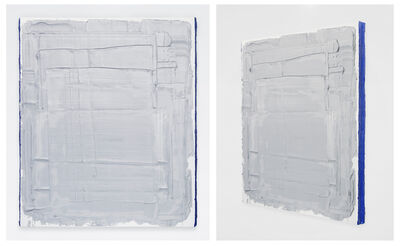 Brendan Smith, 'Light Mars Gray with Cobalt Blue sides', 2014