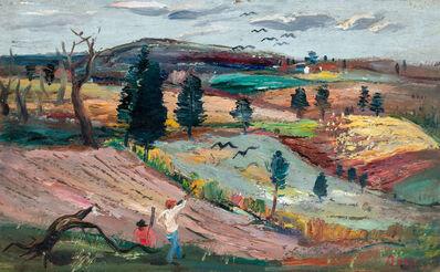 Louis Bosa, 'Hunters in Buck County'