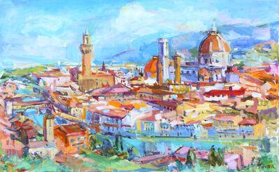 Sonia Grineva, 'Florence Piazza Michelangelo'