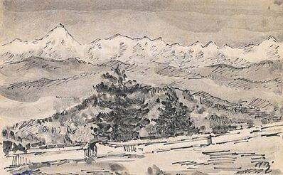 Nandalal Bose, 'Lanscape'