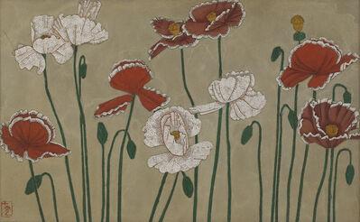 Shiguang 十光 Qiao 乔, '银地虞美人 Corn Poppy', ca. 1986