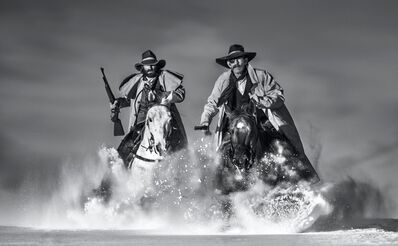 David Yarrow, 'The Snow Patrol', 2021