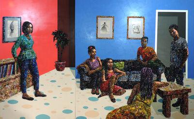 Marcellina Akpojotor, 'Rhythm of Evolving Story ', 2020