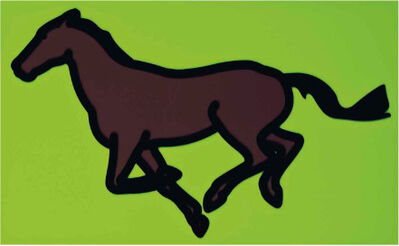 Julian Opie, 'Galloping Horses', 2013