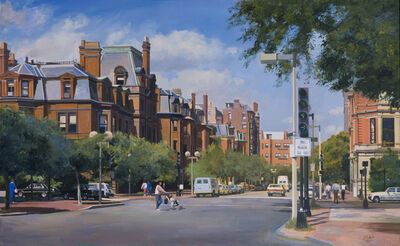 Joel Babb, 'Dartmouth Street and Commonwealth Avenue, Boston, MA', 1986