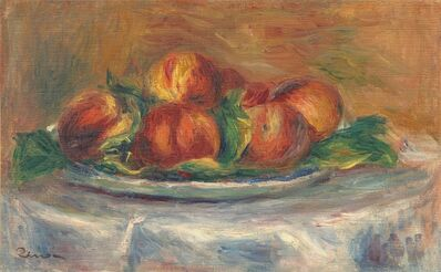 Pierre-Auguste Renoir, 'Peaches on a Plate', 1902/1905