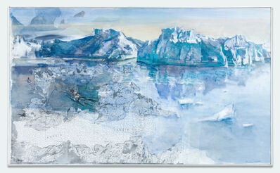 Marcia Clark, 'Icefiord with Map   ', ca. 2010