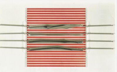 Julio Le Parc, 'Relief 19, 1970 Brodure Transparente 12/200 15.7 x 15.7 x 1.5 in. 40 x 40 x 4 cm', 1970