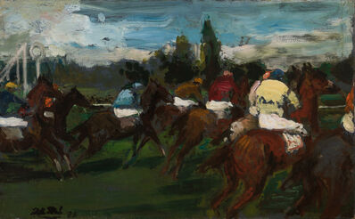 Jacques-Émile Blanche, 'False Start, Courses D'Auteuil', 1935