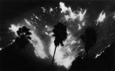 Robert Longo, 'Study of California Wildfire', 2019