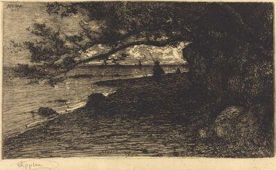 Adolphe Appian, 'A Villefranche-sur-Mer', 1882