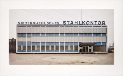 Thomas Ruff, 'Haus Nr. 12 II (Niederrheinisches Stahlkontor)', 1989