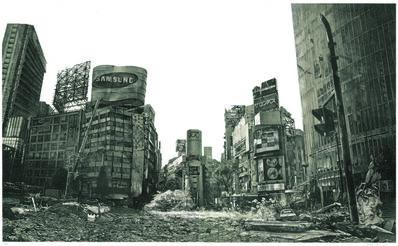 Hisaharu Motoda, 'Indication - Shibuya Center Town', 2005