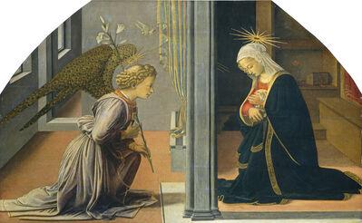 Fra Filippo Lippi, 'The Annunciation', ca. 1435/1440