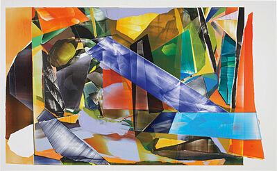 Kristin Baker, 'Neon Rythme Luncheon', 2010