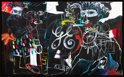 Peter Triantos, 'Homage Basquiat (Untitled #129)', 2019