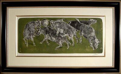 Hans Erni, 'Bulls', ca. 1950
