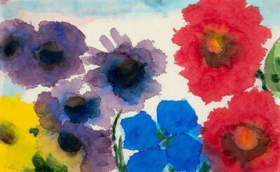 Emil Nolde, 'Summer Flowers', circa 1945-50