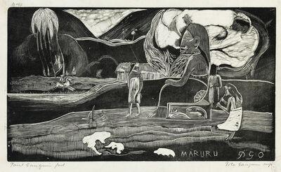 Paul Gauguin, 'Maruru.', 1893-94