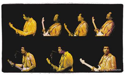 Amalie R. Rothschild, Jr., 'Jimi Hendrix at Fillmore East, December 31, 1969', 1969