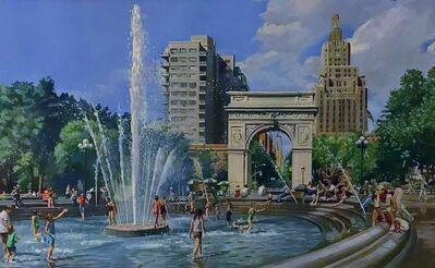 Robert Neffson, 'Study for Washington Square Park', 2012