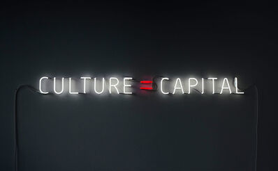 Alfredo Jaar, 'Culture = Capital', 2011