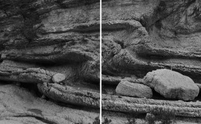 Fabio Barile, 'Folding strata (Diptych) ', 2019