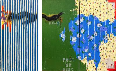 Teddy Benfield, 'Untitled (Wallpaper / Texture Studies 1 + 2)', 2021