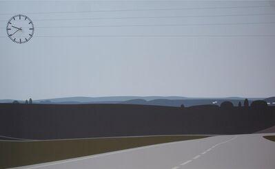 Julian Opie, 'I TOOK A TURN OFF...', 2006
