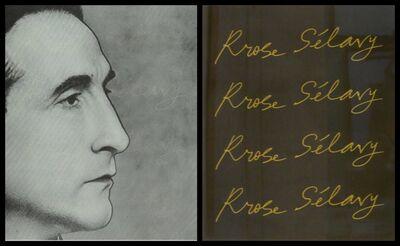 Marcel Duchamp, 'Rrose Sélavy (Marcel Duchamp) in Wilson-Lincoln System ', 1967