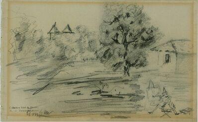 Henri de Toulouse-Lautrec, 'The Painter before his Subject', ca. 1880