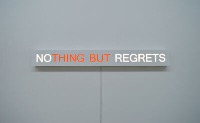 Kelly Mark, 'No Regrets', 2017