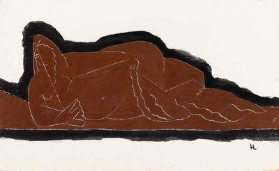 Henri Laurens, 'Nu à l'eventail', 1926