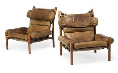 Arne Norell, 'Pair of Inca chairs', 1960s