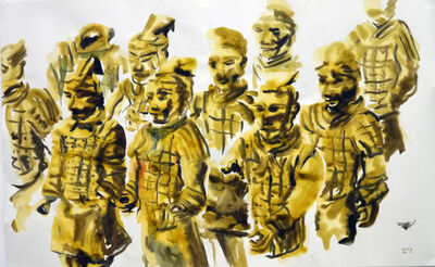 Tawan Wattuya, 'The terracotta army', 2012